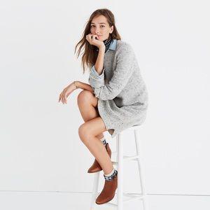 Madewell Button Back Sweater Dress